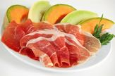 prosciutto e melone served during sailing tour curacao